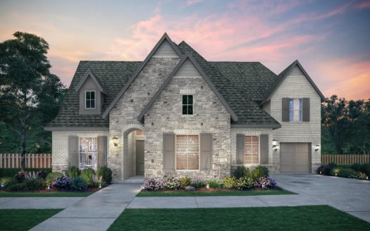Southgate Homes Brockdale Estates subdivision 410 Lakeshore Blvd Lucas TX 75002