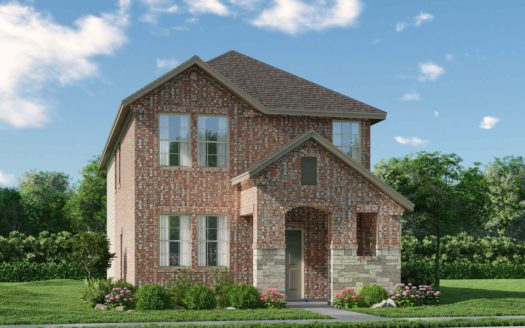 Meritage Homes Northaven - Springs Series subdivision 3858 Norway Mews Rowlett TX 75089