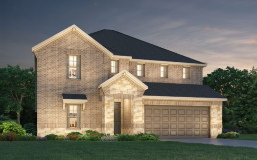Meritage Homes ArrowBrooke - Classic Series subdivision 1821 Gold Mine Trail Aubrey TX 76227
