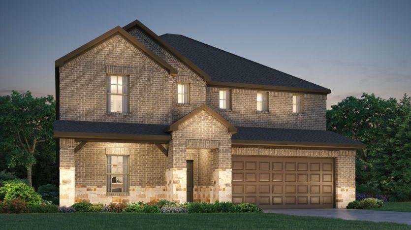 Meritage Homes The Quarry at Stoneridge subdivision 206 Fieldstone Drive Melissa TX 75454