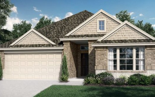 Pacesetter Homes Texas Meadow Run subdivision 2601 Lovegrass Lane Melissa TX 75454