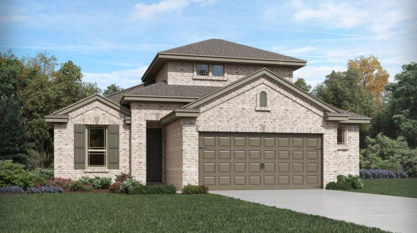 Meritage Homes ArrowBrooke - Reserve Series subdivision 1829 Settlement Way Aubrey TX 76227