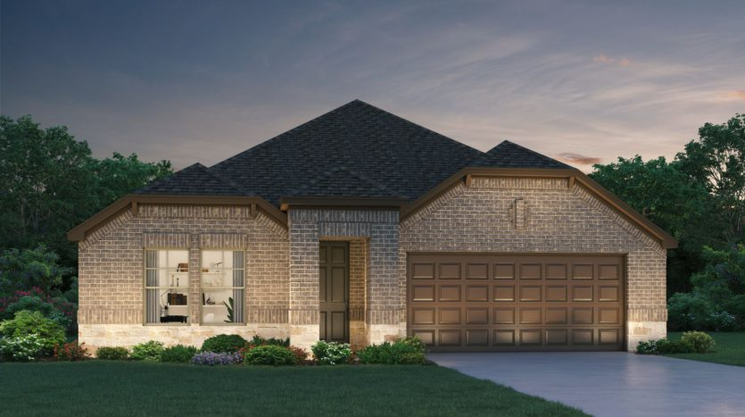 Meritage Homes ArrowBrooke - Classic Series subdivision 1829 Settlement Way Aubrey TX 76227