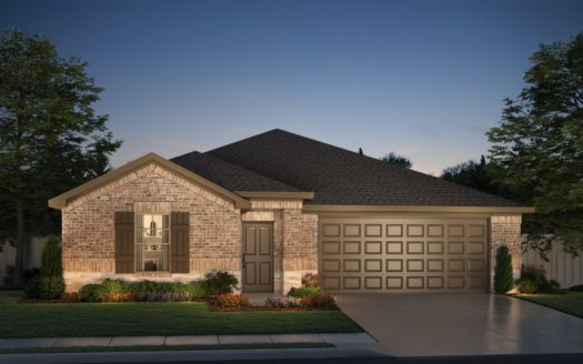 Meritage Homes ArrowBrooke - Classic Series subdivision 1509 Berry Ridge Trail Aubrey TX 76227