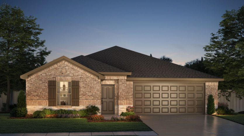 Meritage Homes ArrowBrooke - Classic Series subdivision 1509 Berry Ridge Trail Aubrey TX 76227