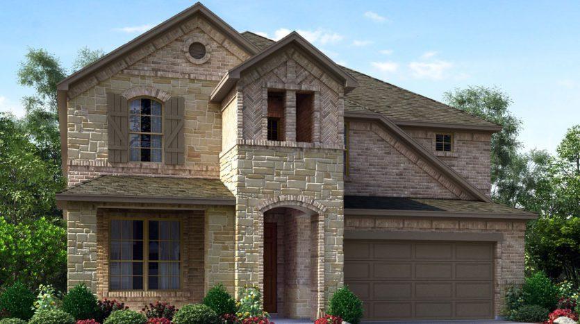 Meritage Homes Hills at Legacy - Woodland Series subdivision 880 Speargrass Lane Prosper TX 75078