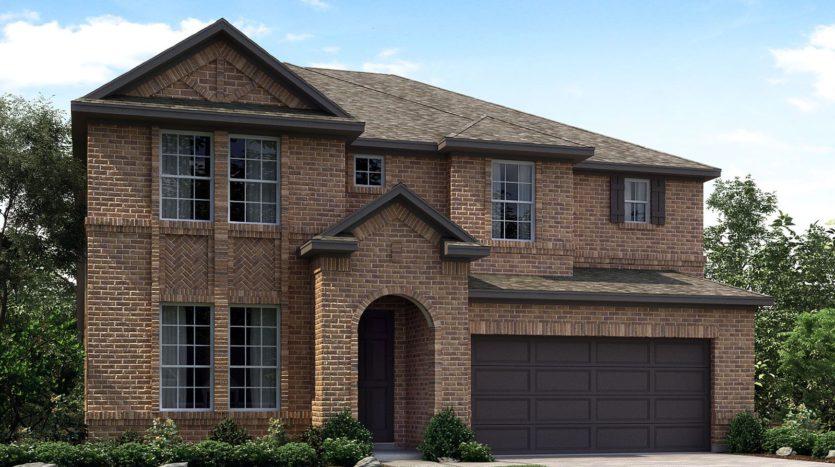 Meritage Homes Northaven - Manor Series subdivision 8017 Chapman Circle Rowlett TX 75089