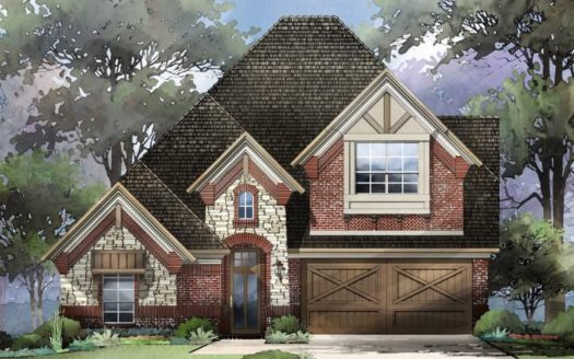 Grand Homes Rivercrest Park subdivision 609 River Rock Way Allen TX 75002