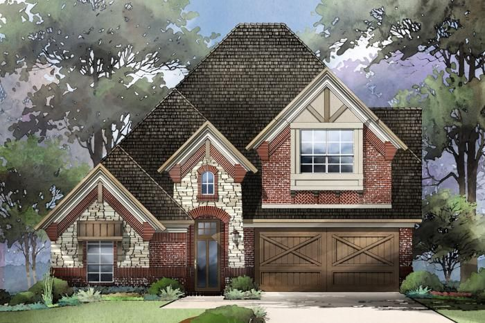 Grand Homes Wilmeth Ridge subdivision 3005 Calvin Rd McKinney TX 75071