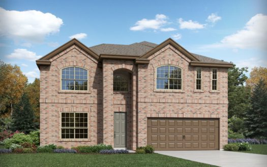 Meritage Homes ArrowBrooke - The Estate Series subdivision 1829 Settlement Way Aubrey TX 76227