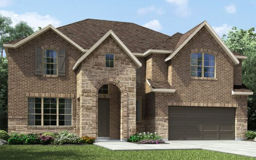 Meritage Homes The Ridge at Northlake subdivision 2716 Bedford Road Northlake TX 76226