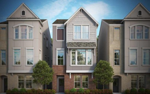 David Weekley Homes Parkside at Trinity Green - Villas subdivision 1193 Tea Olive Lane Dallas TX 75212