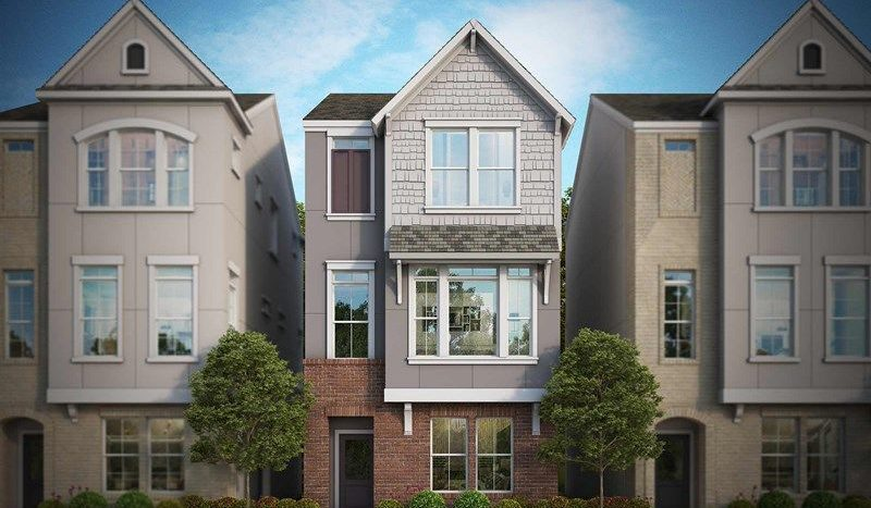 David Weekley Homes Parkside at Trinity Green - Villas subdivision 2728 Flowering Peach Lane Dallas TX 75212