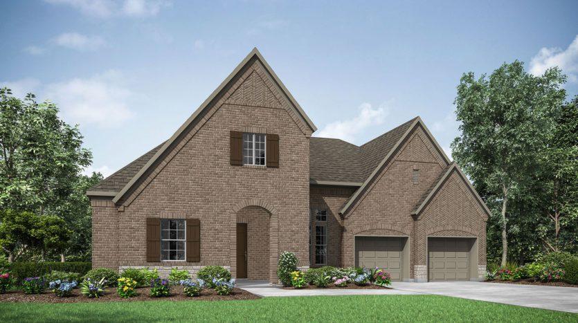 Drees Custom Homes Windsong Ranch subdivision 4450 Acacia Parkway Prosper TX 75078