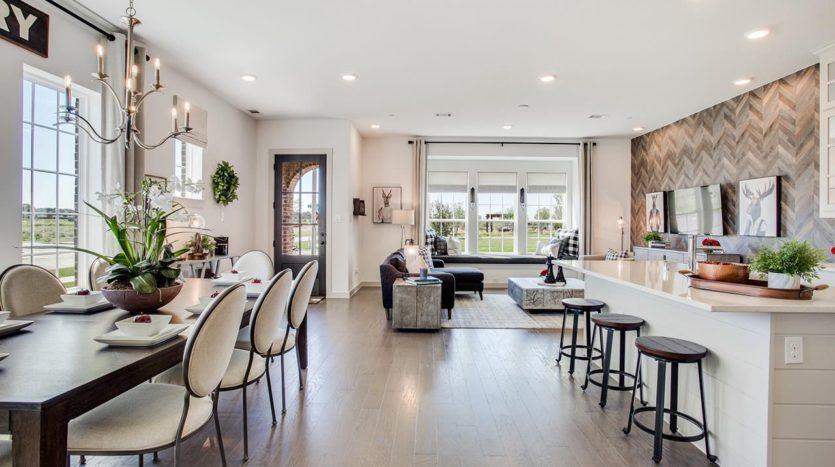 CB JENI Homes Majestic Gardens subdivision 3797 Wellesley Avenue Frisco TX 75034