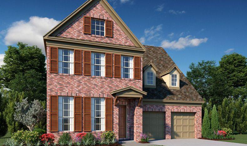 Ashton Woods Southern Hills subdivision 8308 Cottage Drive McKinney TX 75070