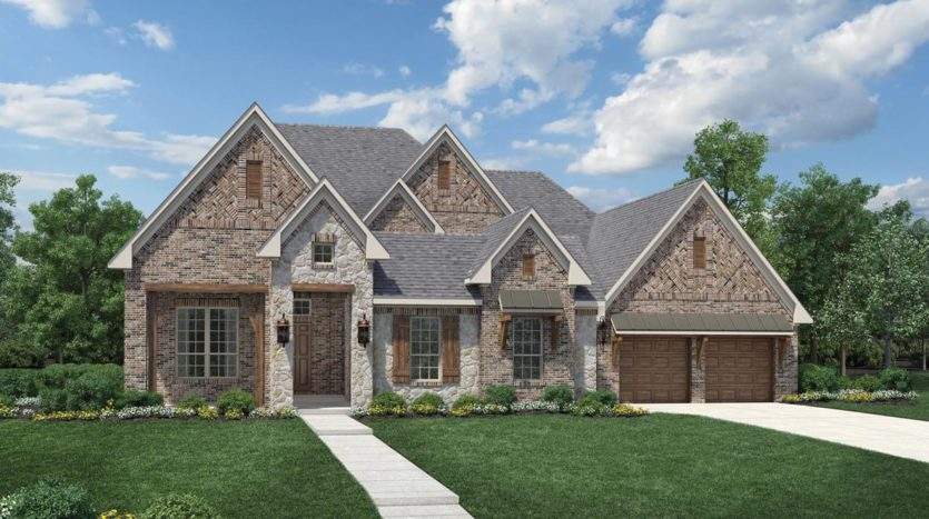 Toll Brothers Town Lake at Flower Mound subdivision 4813 Harper Circle Flower Mound TX 75022