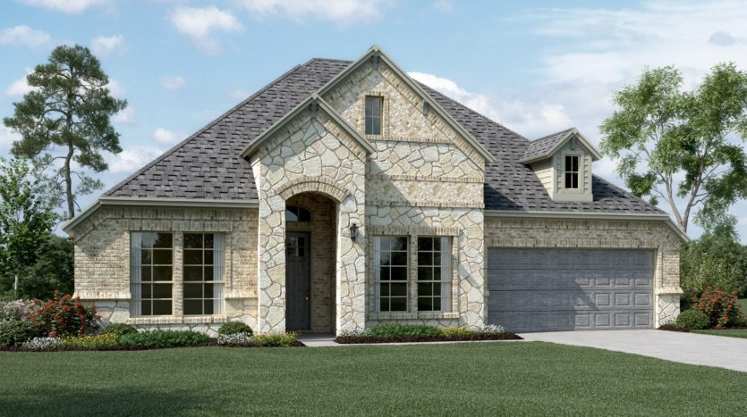 K. Hovnanian® Homes Liberty subdivision 2507 Brandywine Drive Melissa TX 75454
