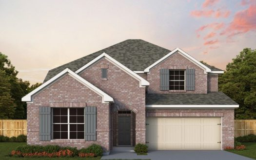 David Weekley Homes Prairie Oaks subdivision 9624 Oxbow Lane Little Elm TX 75068