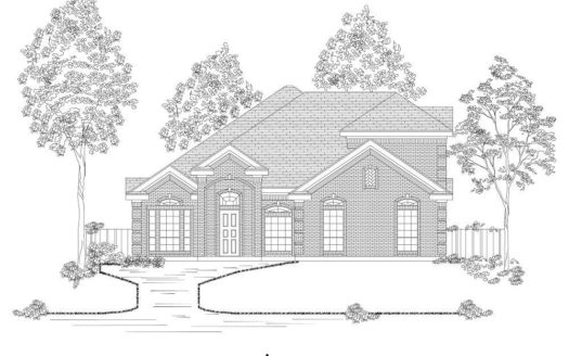 First Texas Homes The Preserve at Pecan Creek subdivision 7712 Castle Pines Lane Denton TX 76208
