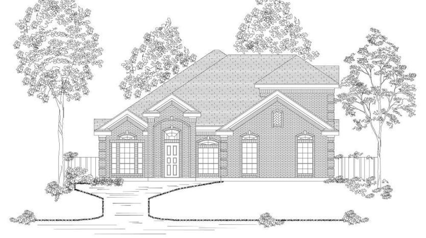 First Texas Homes The Preserve at Pecan Creek subdivision 7605 Echo Hill Lane Denton TX 76208