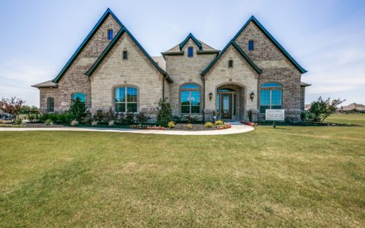 Our Country Homes Stinson Highlands subdivision 1400 Caman Park Drive Lucas TX 75002