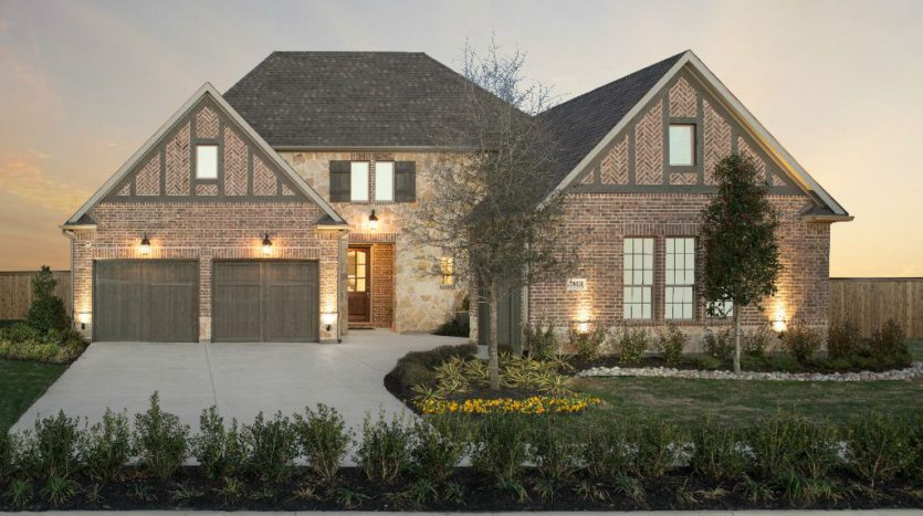 Taylor Morrison Waterford Point at the Tribute subdivision 7825 Kentmere The Colony TX 75056
