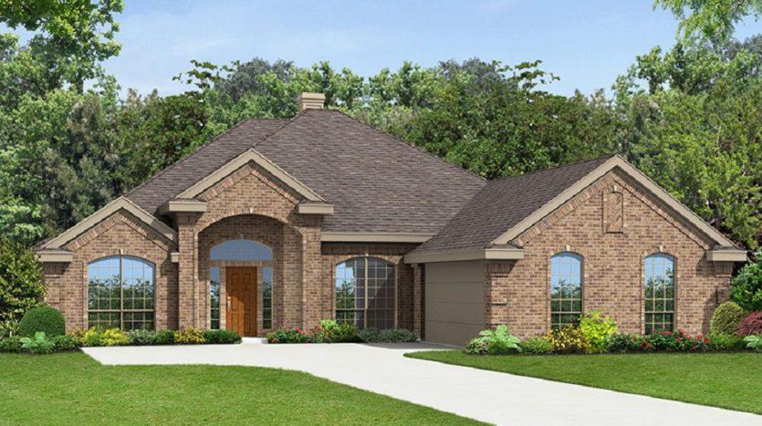 First Texas Homes Mira Lagos - La Jolla subdivision  Grand Prairie TX 75054