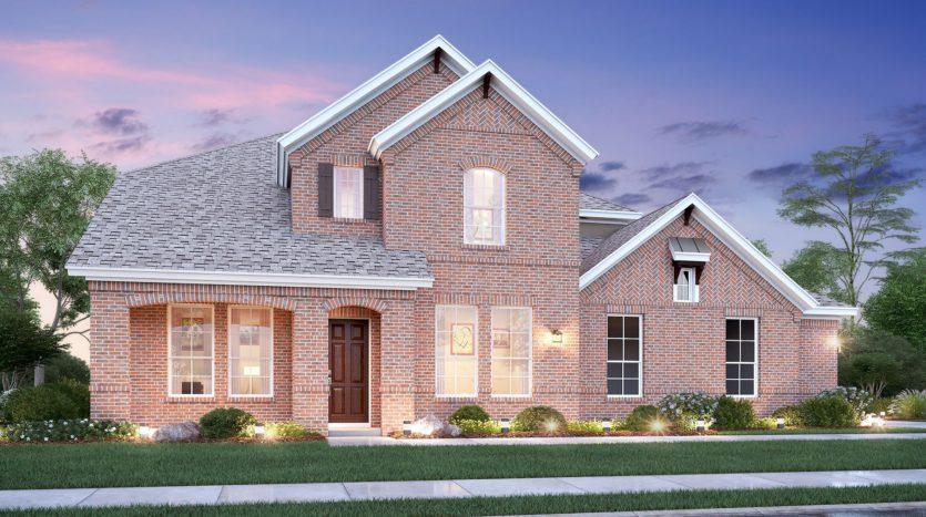 M/I Homes Homestead subdivision 281 Morning Fog Lane Sunnyvale TX 75182