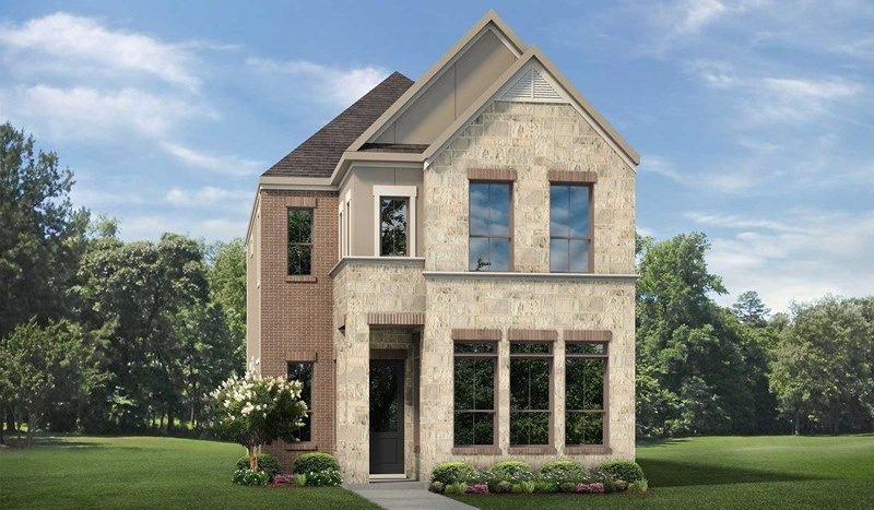 David Weekley Homes Enclave at Lake Highlands Town Center - Bungalow Series subdivision 7113 Copperleaf Drive Dallas TX 75231