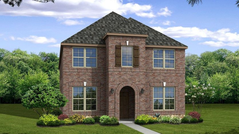 Beazer Homes Valencia on the Lake - Arbors 40s subdivision 2000 Miramar Dr Little Elm TX 75068