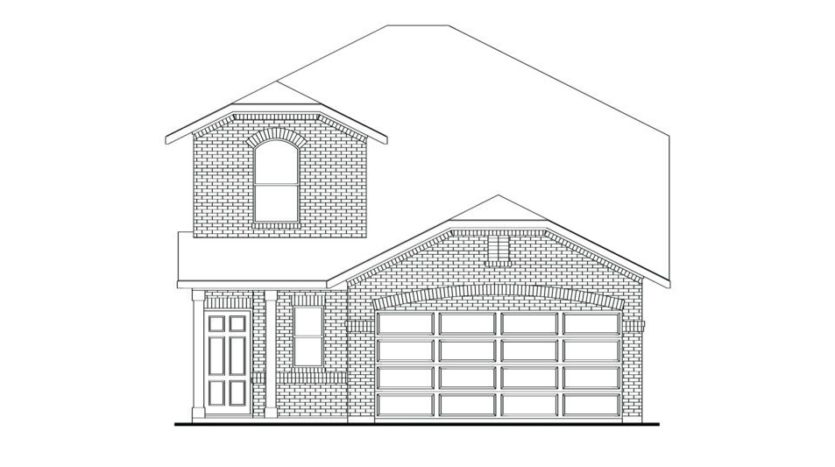 Impression Homes Aubrey Creek Estates subdivision 5450 U.S. 377 Aubrey TX 76227