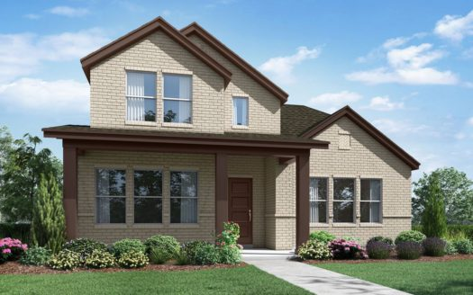 Landon Homes Hollyhock Impression Series subdivision 15720 Pleat Leaf Frisco TX 75033