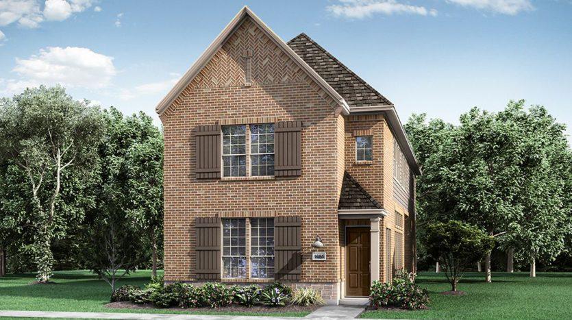 Darling  Homes Montgomery Farm Angel Field East 31s subdivision 1060 Sarah Street Allen TX 75013