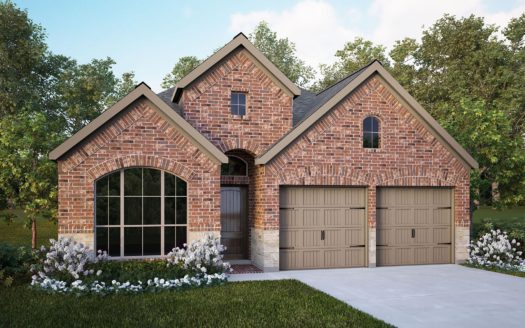 Perry Homes Trinity Falls 45' subdivision 1000 QUEENS LAKE TRAIL McKinney TX 75071