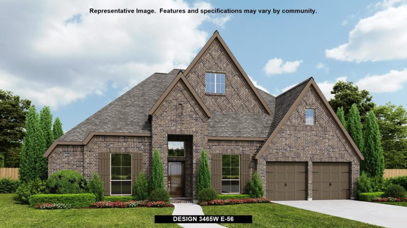 Perry Homes Fairway Ranch 75' subdivision 972 MYERS PARK TRAIL Roanoke TX 76262