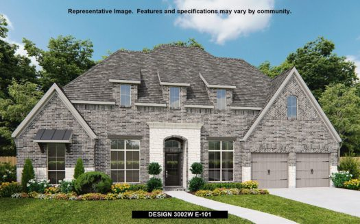 Perry Homes Fairway Ranch 75' subdivision 981 MYERS PARK TRAIL Roanoke TX 76262