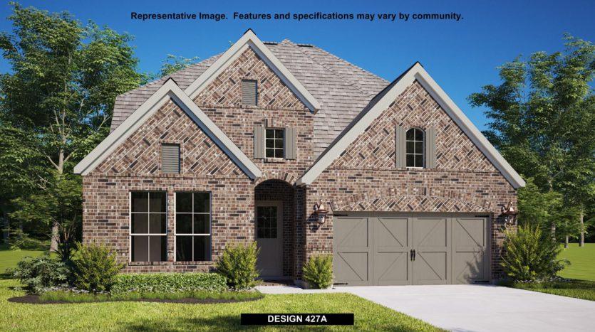 BRITTON HOMES Castle Hills 50' subdivision 3700 SIR KELLY STREET Lewisville TX 75056