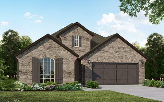 American Legend Homes Canyon Falls - 50s subdivision 4204 Mistflower Way Northlake TX 76226