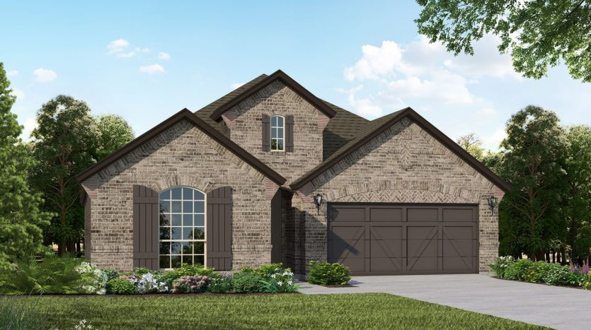 American Legend Homes Canyon Falls - 50s subdivision 4204 Mistflower Way Northlake TX 76226