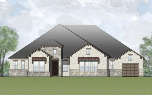 Drees Custom Homes Canyon Falls subdivision 11508 Hickory Falls Drive Argyle TX 76226