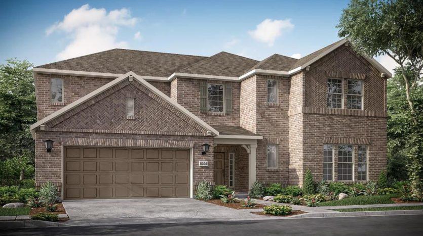 Taylor Morrison The Ridge at Northlake subdivision 1101 Orchard Pass Northlake TX 76226