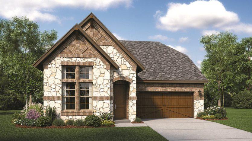 Lennar Estancia subdivision 3404 Begonia Lane Irving TX 75038
