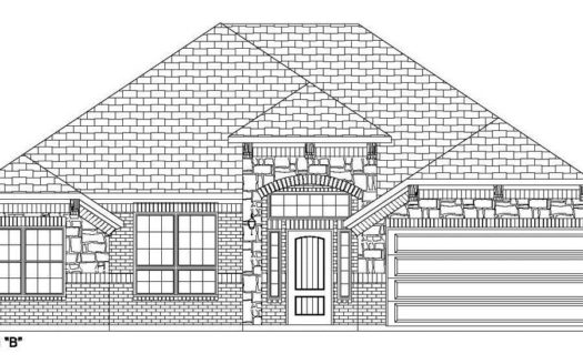 Altura Homes Creek Crossing subdivision 3101 Razorback Melissa TX 75454