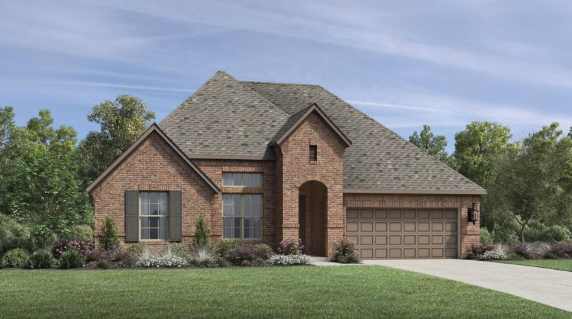 Toll Brothers Lakewood at Brookhollow subdivision  Prosper TX 75078