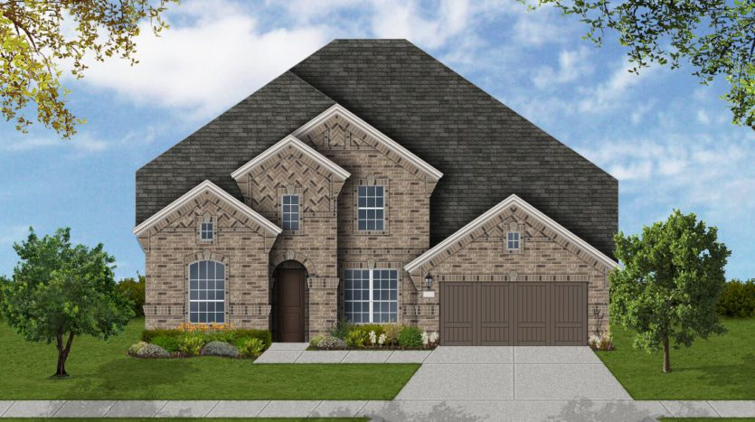 Coventry Homes Harvest 60' Homesites subdivision 1124 Homestead Way Argyle TX 76226