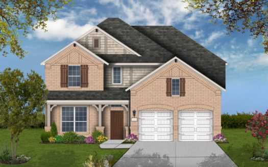 Coventry Homes Union Park subdivision 5008 Union Park Blvd East Aubrey TX 76227