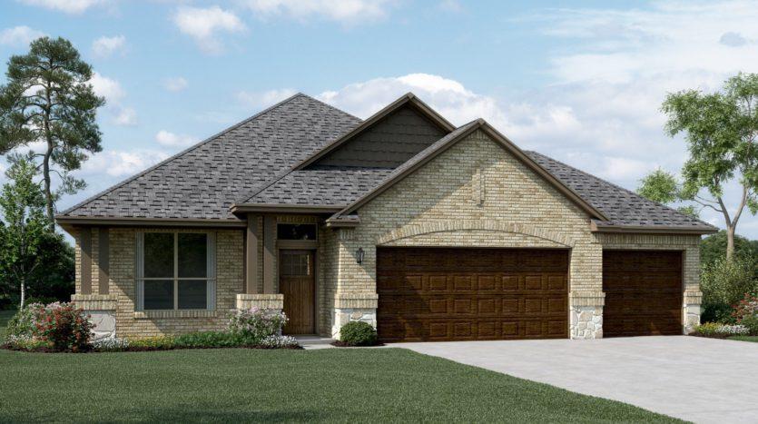 K. Hovnanian® Homes Ascend at Canyon Falls subdivision 4105 Silver Lace Lane Northlake TX 76226