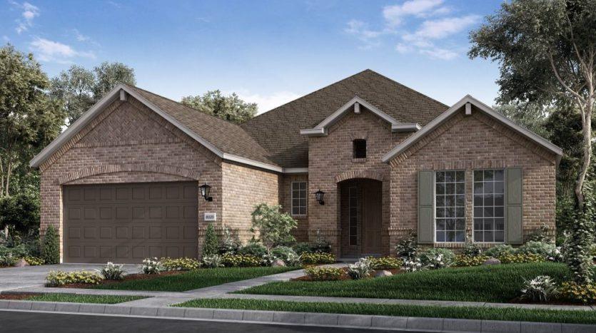 Taylor Morrison South Oak subdivision 121 South Oak Drive Oak Point TX 75068