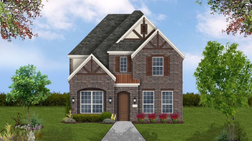 Coventry Homes Viridian Chalet Series subdivision 1332 Viridian Park Ln Arlington TX 76005